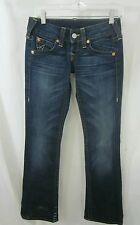 True Religion Womens Blue Jeans Pants  Cotton Blend Wash Sz 25