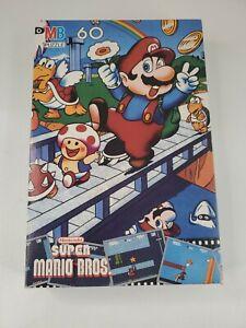 Vintage Complete 1988 Milton Bradley Nintendo Super Mario Bros Jigsaw Puzzle NIB