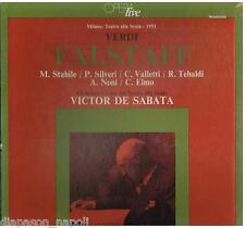 Verdi: Falstaff / De Sabata, Stabile, Tebaldi, Milano 1951 - LP Cetra