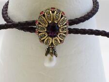 Alexandra McQueen Jewel Charm Nappa bracelet