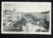 PORTUGAL 204.-CALDAS DA RAINHA -1963 Praça da República (Real Photo RPPC))