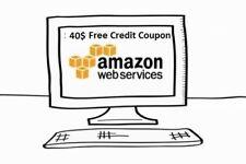 $40 aws amazon web services credit EC2 SQS RDS promocode