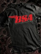 XL BSA MOTORCYCLES TEE-SHIRT BY METRO RACING - 100% HEAVYWEIGHT COTTON