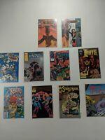 Lot Of 10 Small Independent Press Comics Epic Wildstorm Amalgam Monarchy