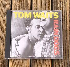 TOM WAITS RAIN DOGS (1985, Island Records) used CD NEAR MINT