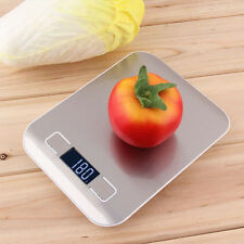 Diet Compact Weight Scale 5kg Digital LCD Electronic Kitchen Food Baking Scale