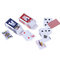Lovely Paper Model Poker Miniature Poker Model 1:12 Dollhouse Accessories FE