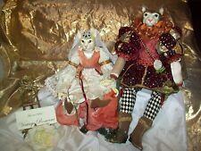 Katherine's Collection Romeo & Juliet Dolls by Wayne Kleski Limited Edit Musical