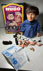 Vintage Kenner Hugo Man of a Thousand Faces Puppet Alan Ornsby Accessories & Box