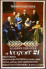 WATKINS FAMILY HOUR 2015 Gig POSTER Portland Oregon Concert FIONA APPLE