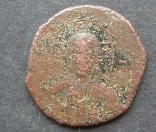 Byzantine bronze coins. Anonymous follis class A3 (Basil Ii and Constantine Viii
