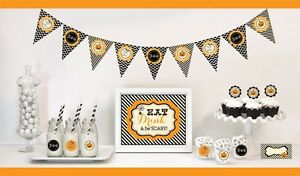 Classic Halloween Party Decorations Starter Kit