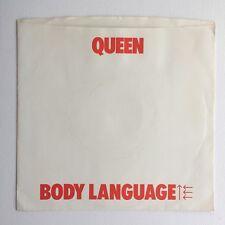 "Queen - Body Language - 7"" Vinyl Single - Censored Sleeve (USA) 1982- Mega Rare"