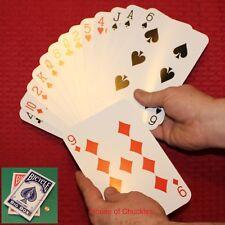 Jumbo McCombical Magic Card Trick Bicycle Deck - Red Back - McComical