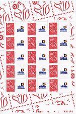 FEUILLE FRANCE PERSONNALISE N° F3741A ** MARIANNE LAMOUCHE LOGO TPP / COTE + 60€