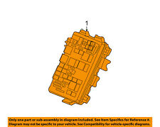 Buick GM OEM 07-09 LaCrosse 3.8L-V6 Fuse Relay-Junction Block 25918681