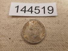 1943 C Newfoundland 5 Cents - Higher Collector Grade Album Coin - # 144519 Raw