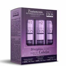 Plastica Dos Fios Keratin Treatment Box Kit 3x300ml/3x10.14fl.oz
