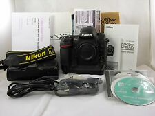 Nikon D D3x 24.5MP Digital SLR Camera - Black (Body Only) Complete 6940 S Count
