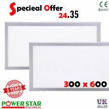LED Ceiling Panel 300x 600mm Ceiling lights 24 Watt Energy Saving Panel 12mm