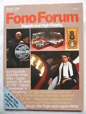 Fono Forum 6/86 FOHHN CLP 110, Nakamichi BX 125e, KEWOOD KX 880g, TEAC V 750,