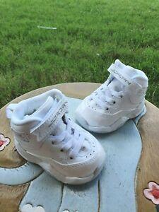 "Jordan B'Loyal ""White/Silver"" BRAND NEW Toddler 2C"
