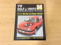 VW GOLF &VENTO HAYNES MANUAL