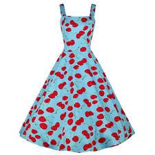 Markenlose Normalgröße Damenkleider aus Baumwollmischung