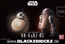Bandai Star Wars Modellbaukasten Bb-8 & R2-d2 1/12