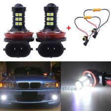 2x Error Free White LED Fog Light DRL For BMW E71 X6 M E70 X5 E83 F25 X3 H11 H8