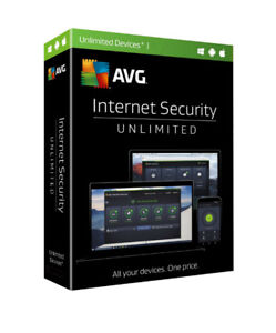 AVG Internet Security - Unlimited Device / 2-Year - Global - CD