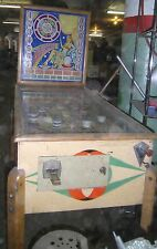 Vintage 1941 Gottlieb Horoscope Pinball Machine before Flippers