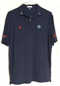Scotty Cameron Peter Millar Agave Man Tour Rat Polo Shirt Men's Large L