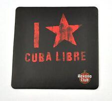 Havana Club Bierdeckel Untersetzer Coaster sous-bock Logo + I love Cuba Libre