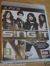 DISNEY Sing It Party Hits (ps3) Brand New & Sealed