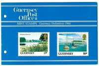 GUERNSEY PRESENTATION PACK MNH 1984 GUERNSEY DEFINITIVES TOUR OF THE BAILIWICK