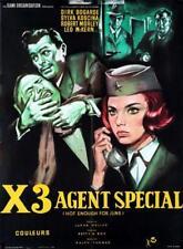 Affiche -  X3 AGENT SPECIAL - 60x80cm