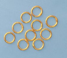 14KT Gold Filled round Closed Ring Finding-10 Pieces Jewelry Supplies