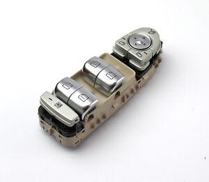 Fensterheberschalter Schalterblock Mercedes-Benz beige W205 S205 X253 C253 GLC