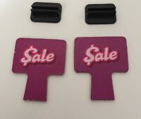2005 Mall Madness Board Game Replacement Pieces Parts Sale Clearance With Stand