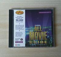 Corel All-Movie Guide Corel CD Home 1995 CD-Rom Windows Mac Complete Very good