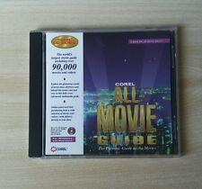 Corel All-Movie Guide Corel CD Home 1995 CD-Rom Windows Mac Complete Very good