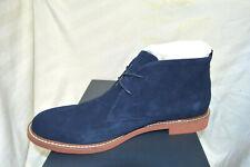 Tommy Hilfiger Men's Gervis Chukka Boots Dark Blue Suede  Size 10.5 M NIB