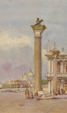 Early 20th Century Watercolour - Venice Street Scene