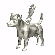 Jack Russell Sterling Silver Dog Charm