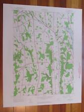 Oran New York 1960 Original Vintage USGS Topo Map