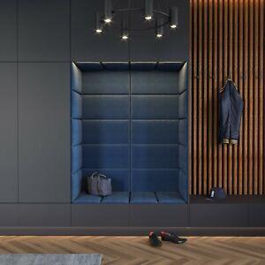 Upholstered Wall Panels Headboard Modern Bedroom LUXURY PLUSH VELVET RIVIERA