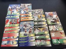 All Rookie Lot (25) 1993 Upper Deck SP Football Cards, duplicates