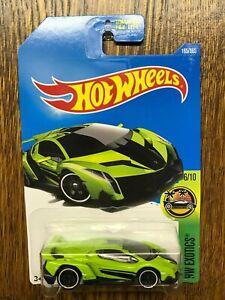 Hot Wheels 2017 Lamborghini Veneno green