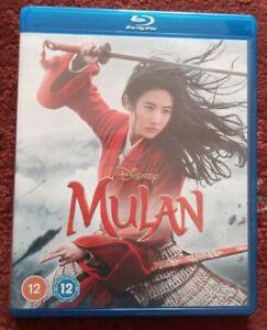 Mulan (Blu-ray, 2020) Disney Movie (NEW)